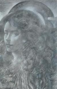 női portré